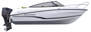 Cap Camarat 6.5 DC │ Cap Camarat Day Cruiser of 6m │ Boat powerboat Jeanneau